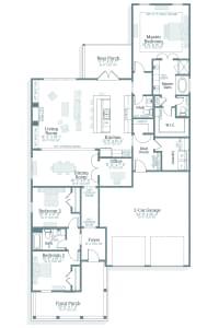 Lanier - Floorplan
