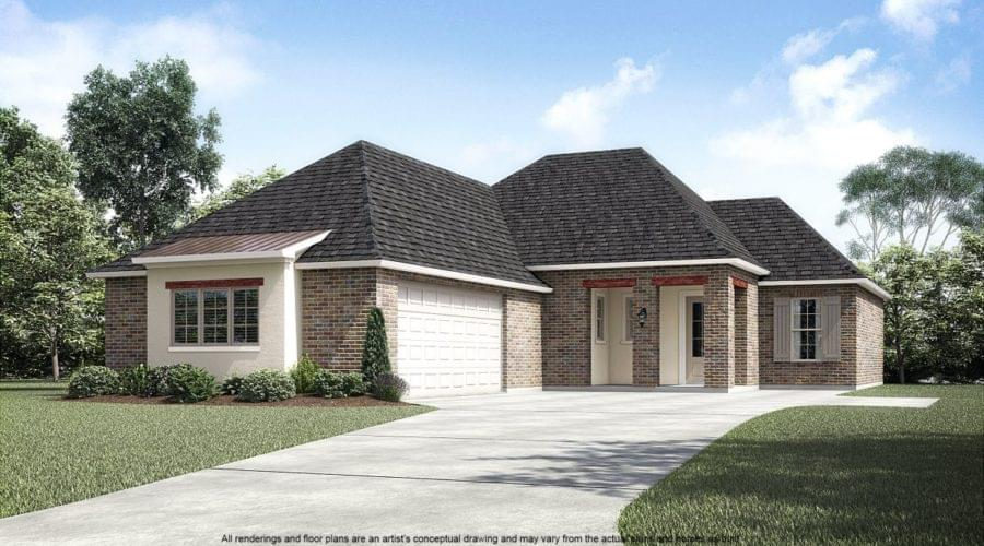 5207 White River Road Darrow LA New Home for Sale