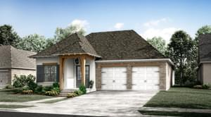 The Bourget New Home in Baton Rouge LA
