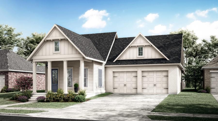 The Breton New Home in Louisiana