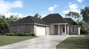 The Basile New Home in Geismar LA
