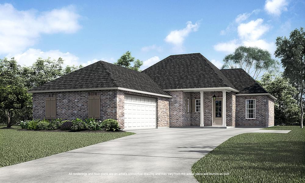 36310 Belle Reserve Avenue Geismar LA New Home for Sale