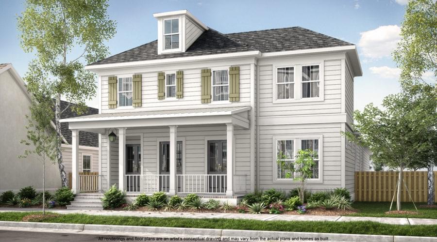 The Fairfield II New Home in Zachary LA