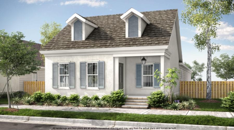 The Hampton II New Home in Gonzales LA