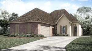 The Franklin New Home in Geismar LA
