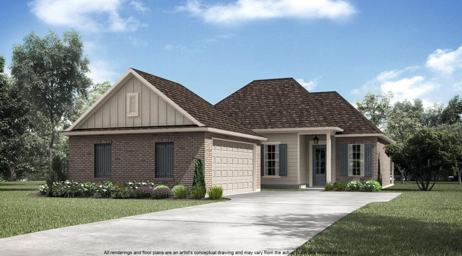 The Orleans New Home in Plaquemine LA
