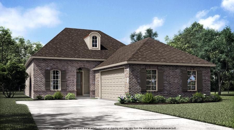 5175 Black River Rd. Darrow LA New Home for Sale