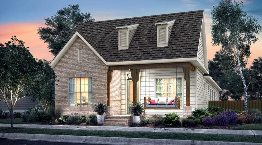 The Langdon New Home in Zachary LA