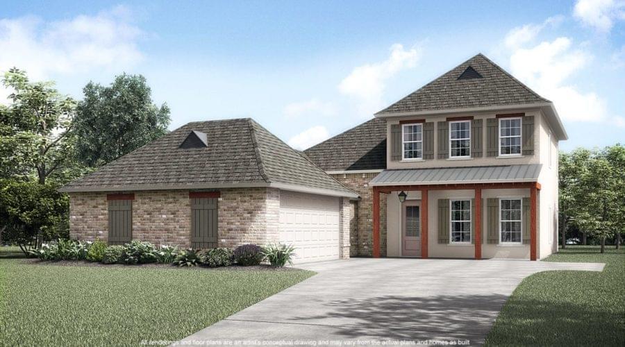 The LaCroix New Home in Springfield LA