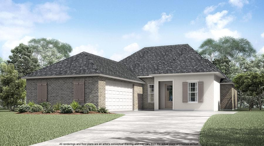 The Stafford New Home in Geismar LA