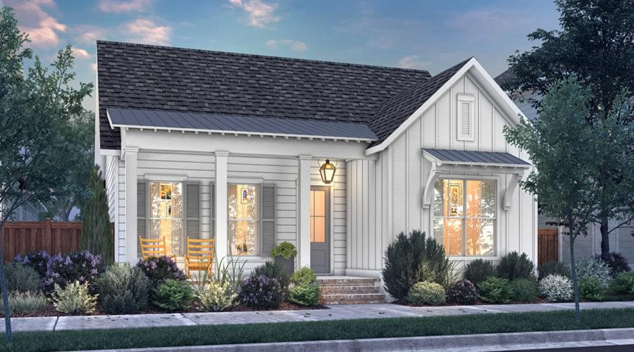 The Middleton New Home in Zachary LA