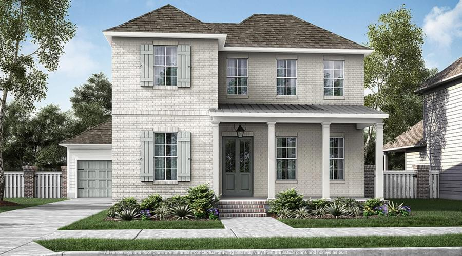 The Roosevelt New Home in Zachary LA