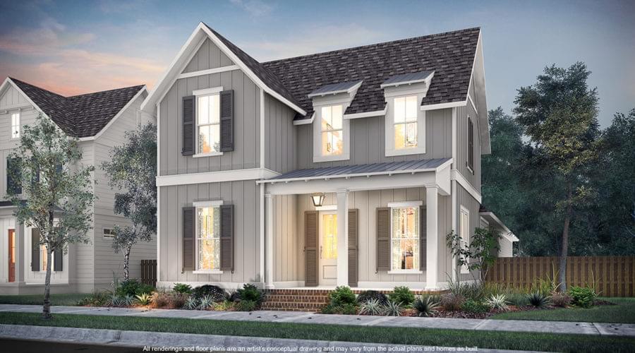 The Yorktown New Home in Zachary LA
