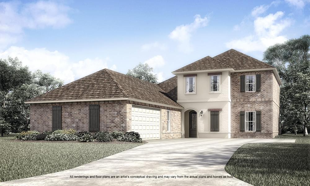 23350 Cypress Cove Springfield LA New Home for Sale