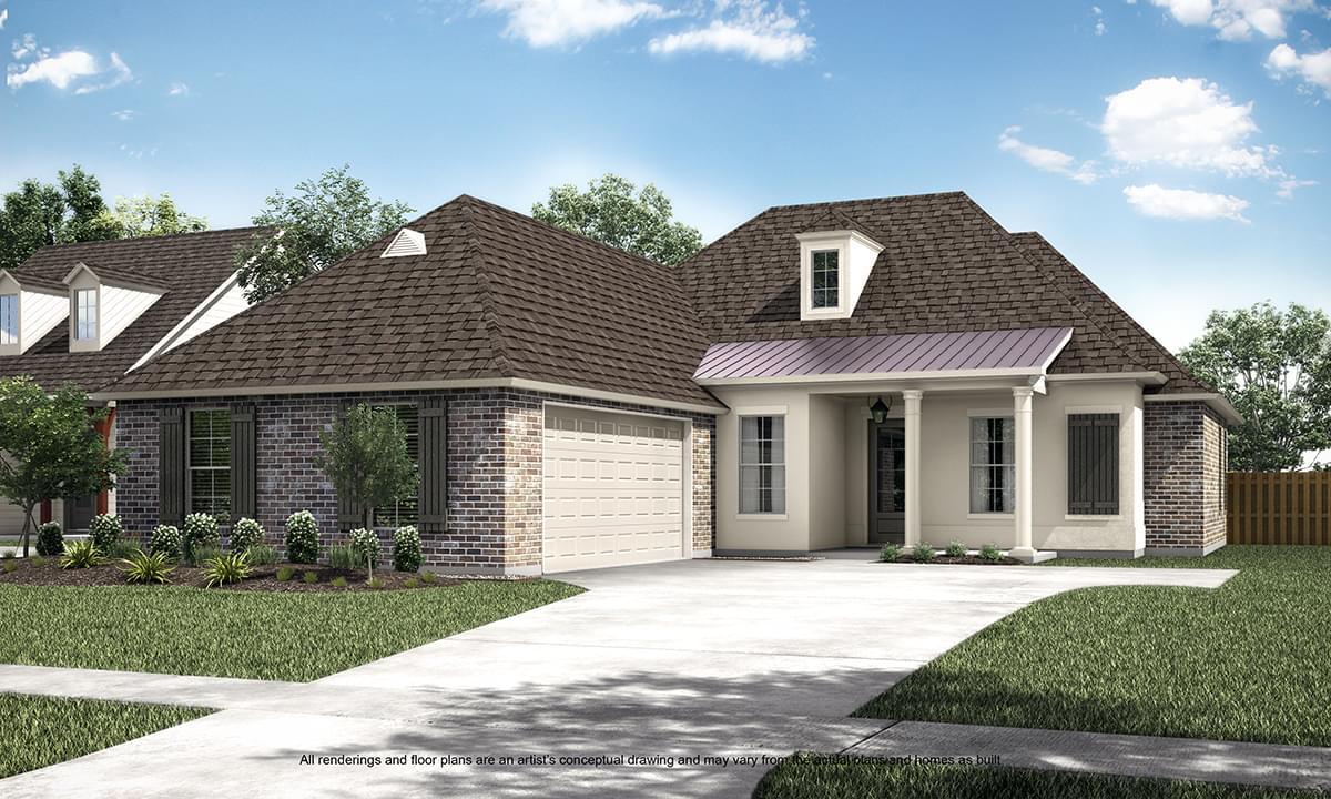 The Blanchard New Home in Zachary LA