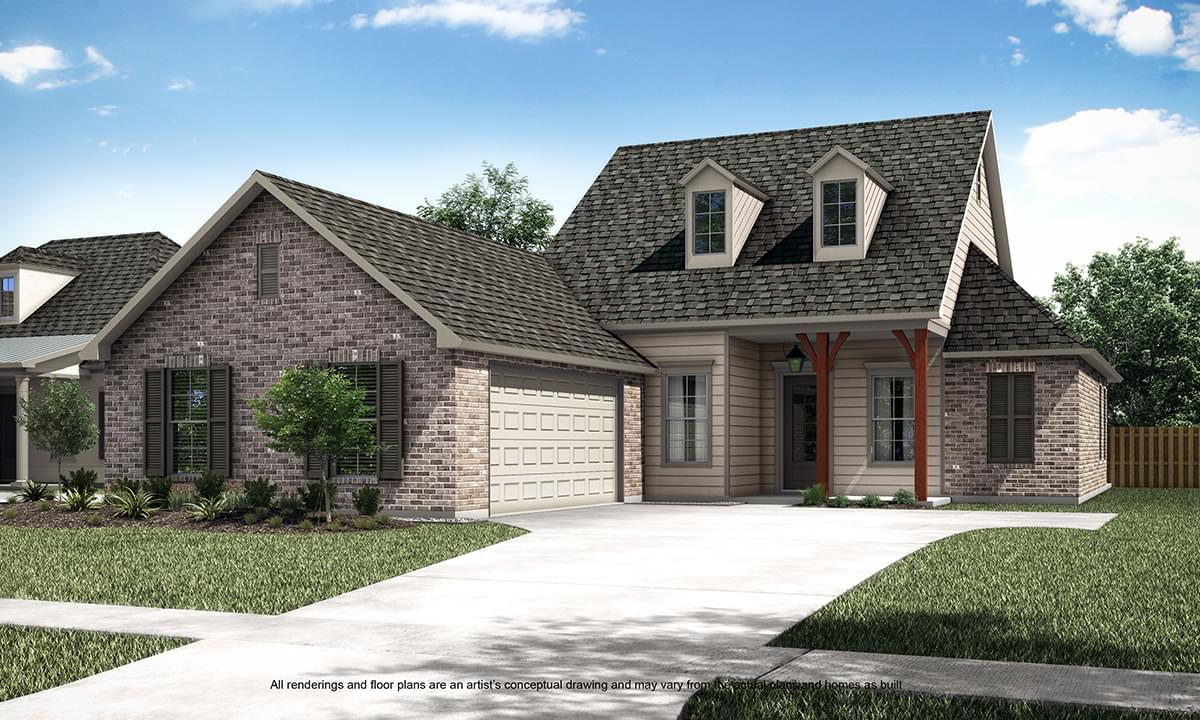 Blanchard New Home in Louisiana