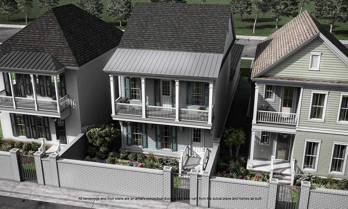 Calais New Home in Louisiana