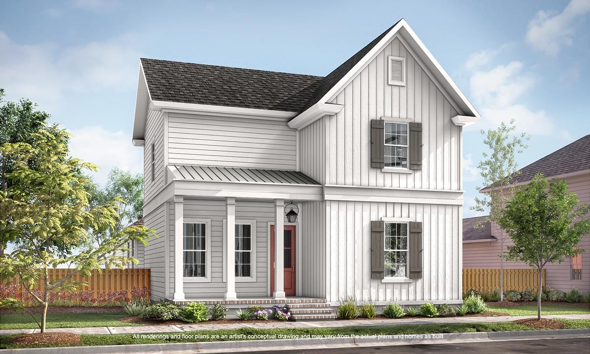 The Augusta II New Home in Zachary LA