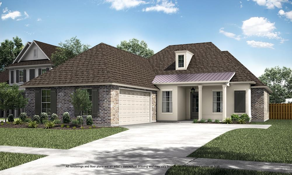 The Broussard New Home in Louisiana