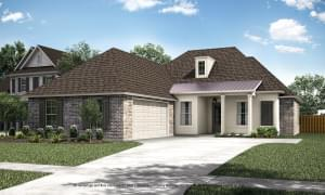 The Broussard New Home in Darrow LA