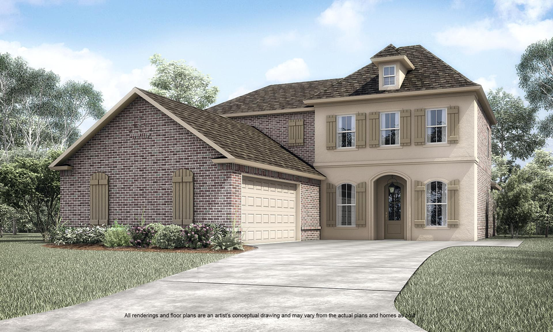 The Belmont II New Home in Springfield LA