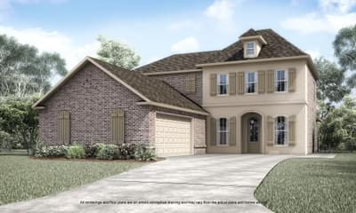 Belmont II Elevation A