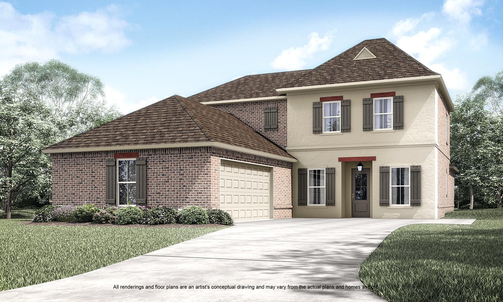 Belmont II New Home in Louisiana