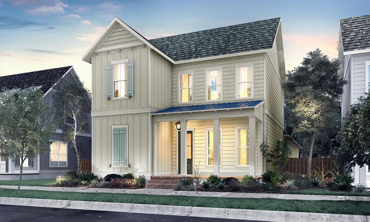 The Millstone New Home in Zachary LA