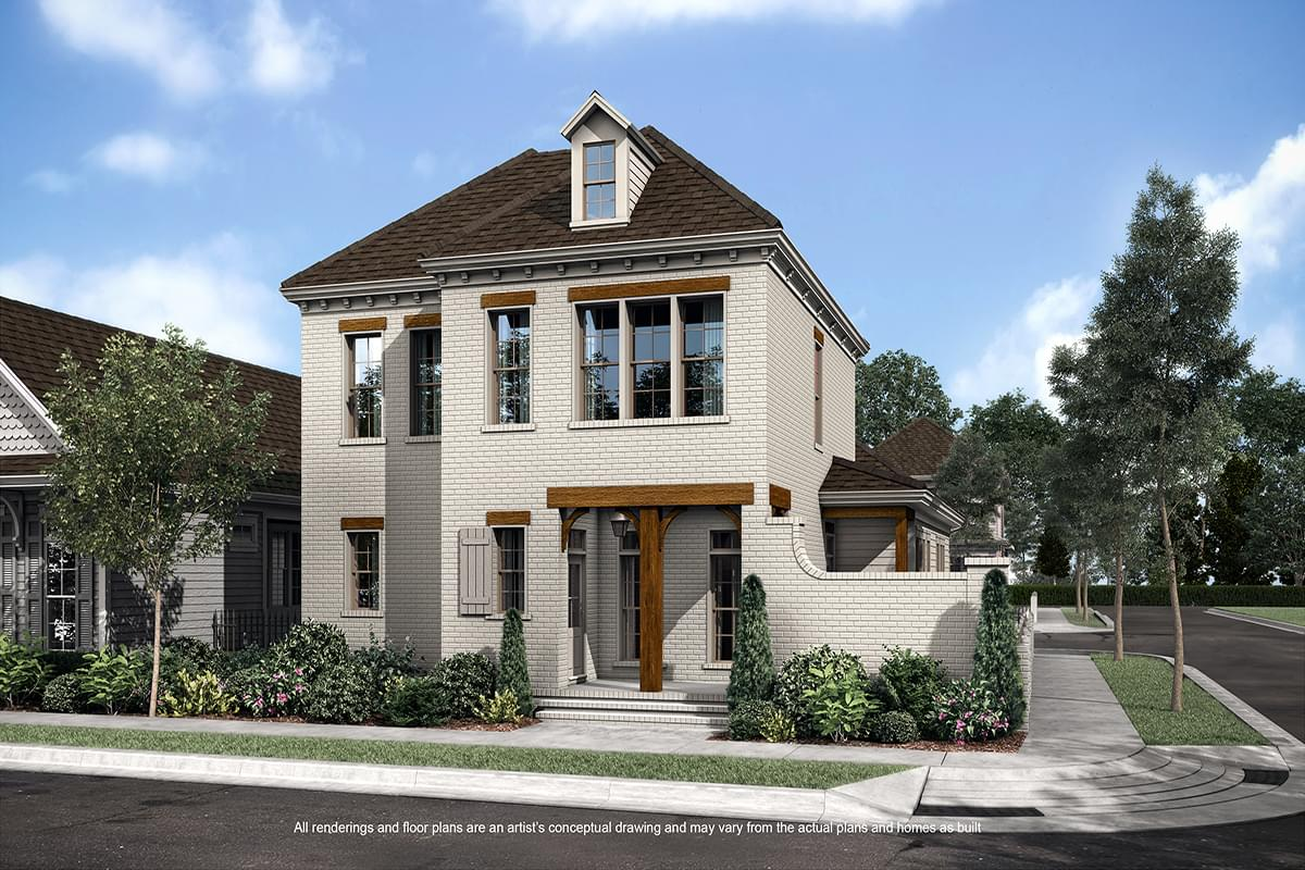 The Madeleine New Home in Baton Rouge LA