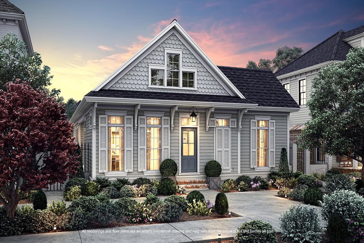 The Mignon New Home in Baton Rouge LA