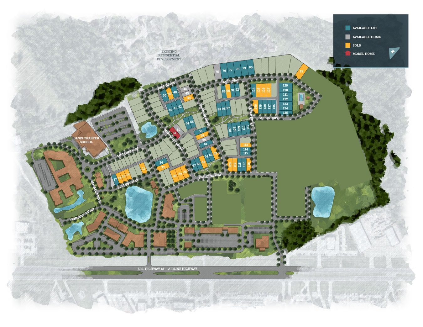 Baton Rouge, LA Materra New Homes from Level Homes