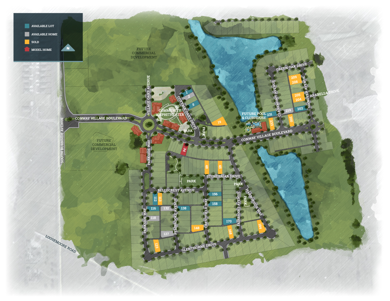 Gonzales, LA Conway New Homes from Level Homes