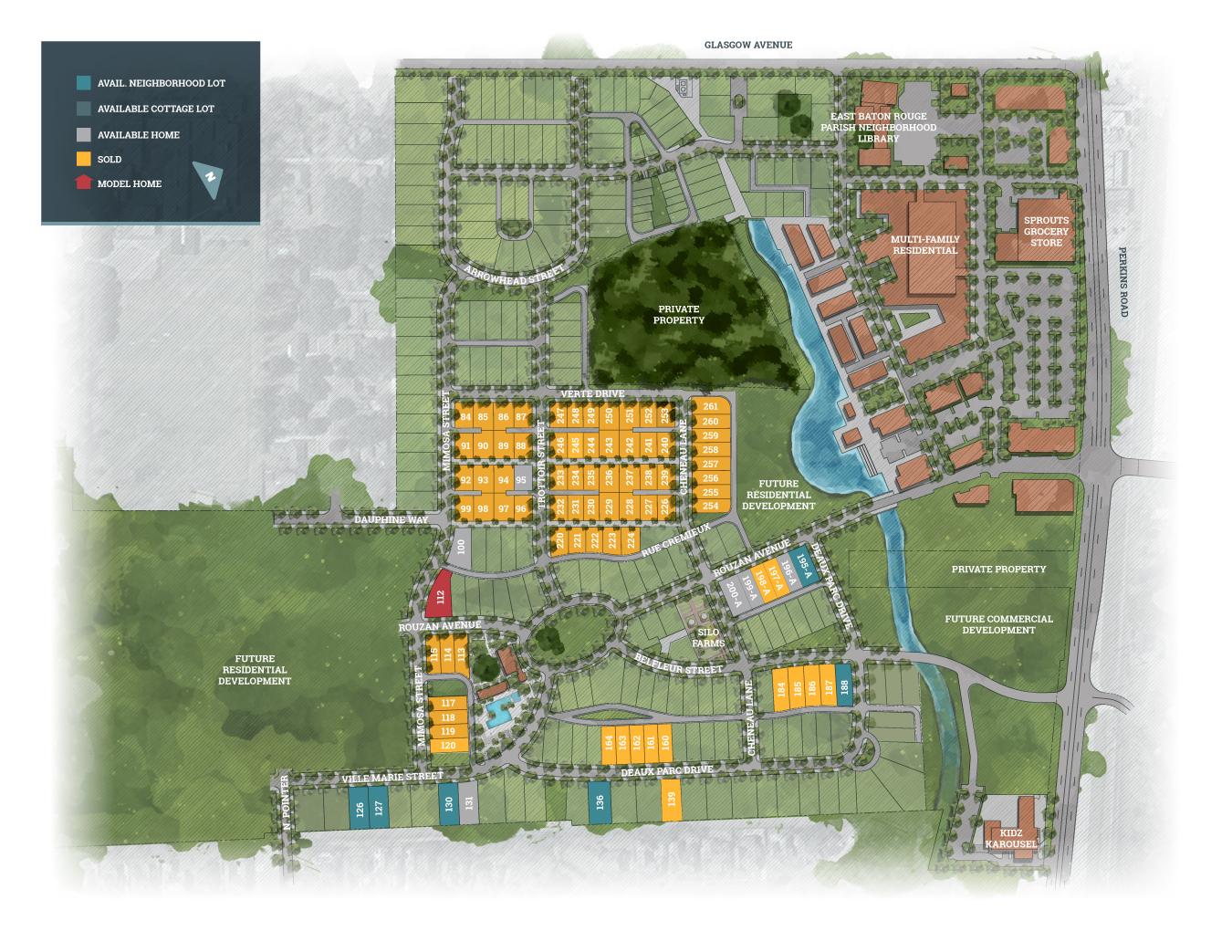 Baton Rouge, LA Rouzan New Homes from Level Homes