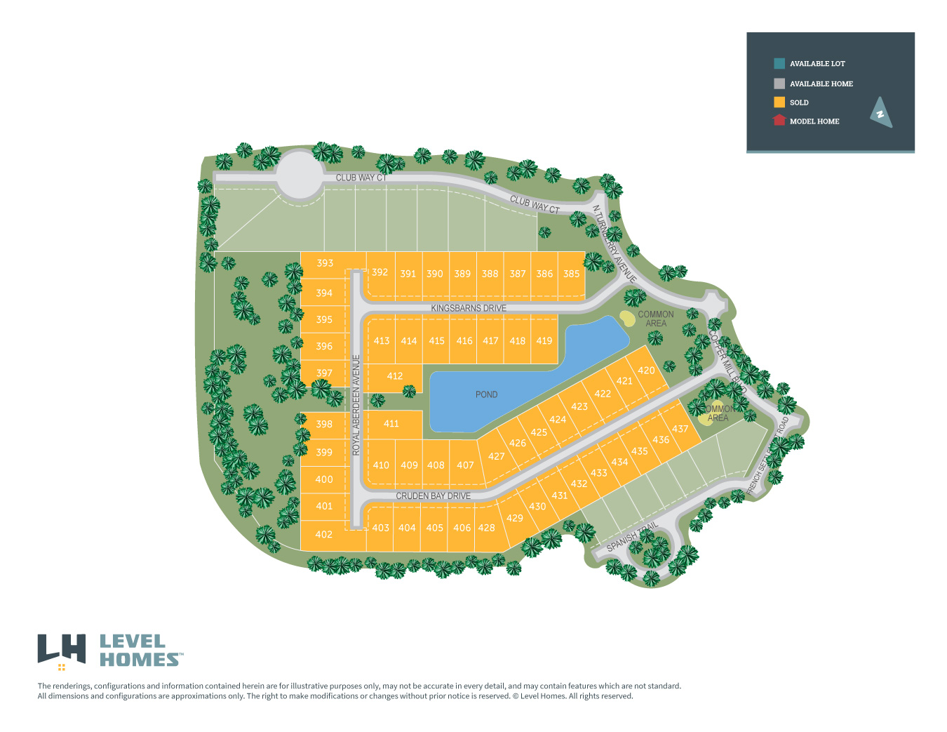 Zachary, LA Copper Mill New Homes from Level Homes