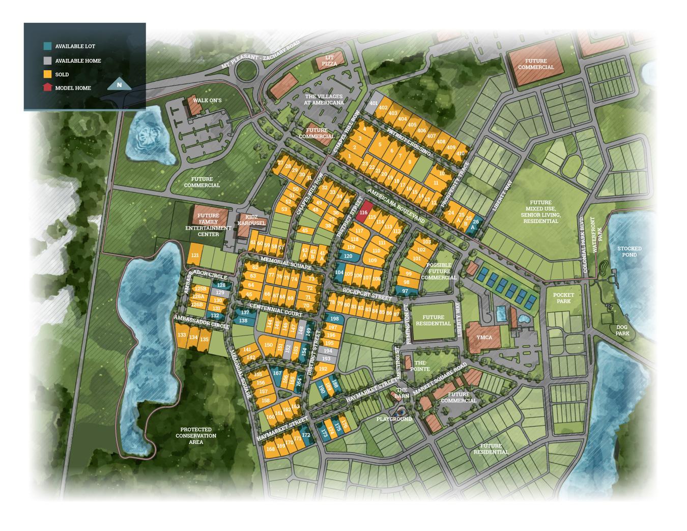 Zachary, LA Americana New Homes from Level Homes